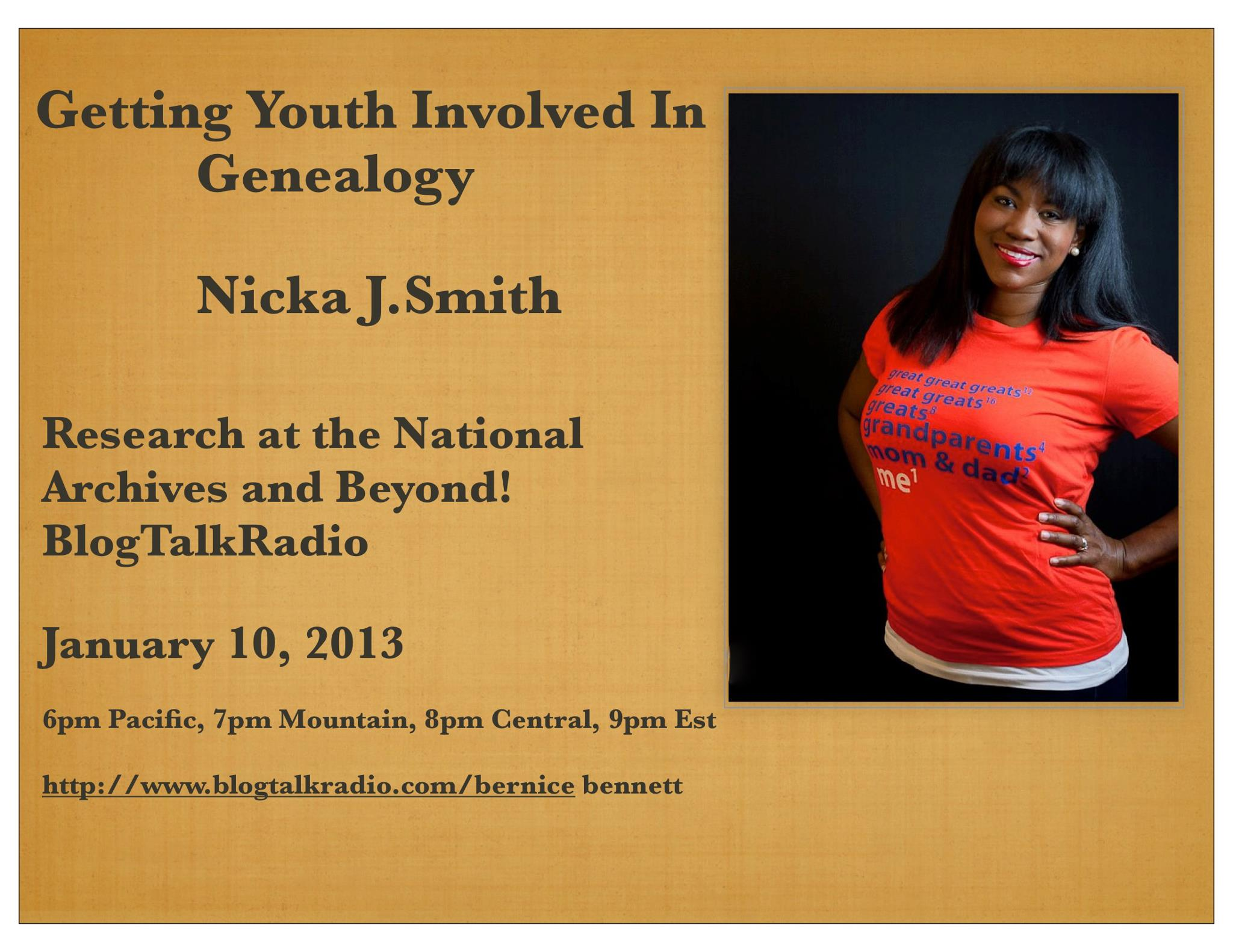 NickaSmith-Youth-and-Genealogy