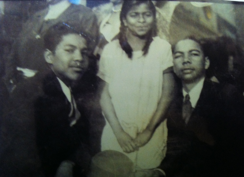 Theodore Cooey, Lois Elaine, and Wilbur Michael Rogers.