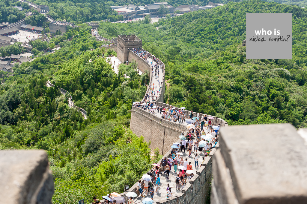 Great Wall of China - Think China 2013 by ns2 photography