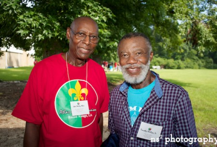 Dr. John W. Atlas and Timothy Phillips, Sr., creators of the Atlas Family Genealogy Research Project.