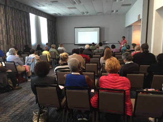 Bernice Alexander Bennett presents on the emotional side of DNA testing.