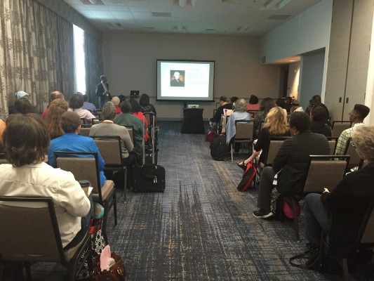 """Michael N. Henderson presents on """"Black Women and White Men: Embracing the Forbidden Fruit of Genealogy."""""""