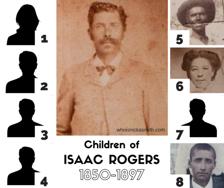 Children of Isaac Rogers, 1850-1897